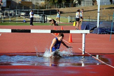 AUSTRALIA Dean Taylor - steeplechase